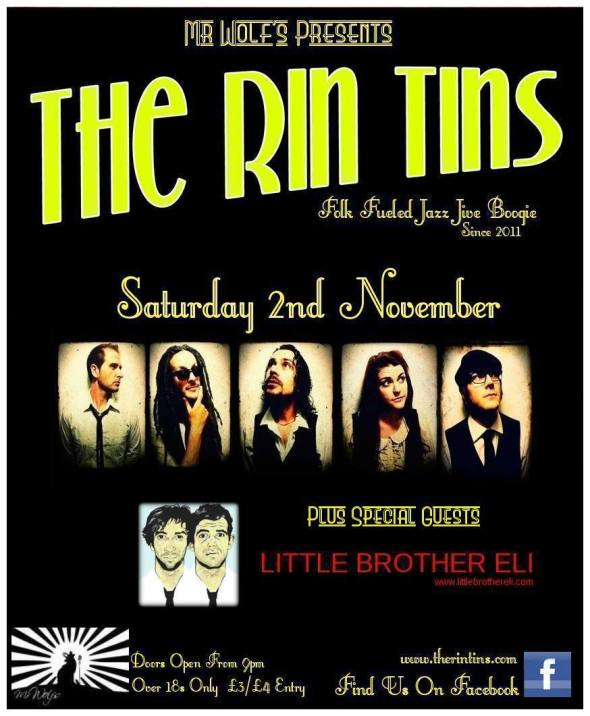 The Rin Tins Mr Wolf's 02.11.13